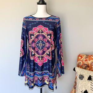 Melissa Paige size medium tunic EUC